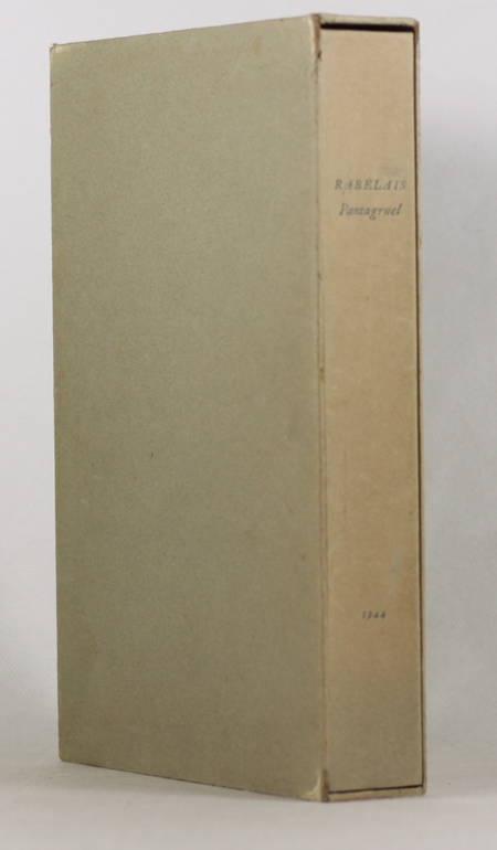 [Typographie] Pantagruel - Tallone - 1944 - Photo 1 - livre de bibliophilie