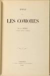 GEVREY - Essai sur les Comores - Pondichéry, 1870 - Photo 0, livre rare du XIXe siècle