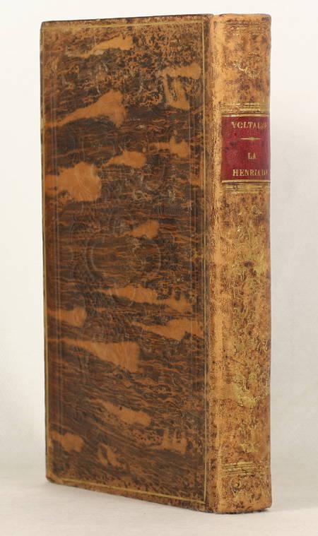VOLTAIRE - La Henriade et divers écrits - 1840 - Relié - Photo 0 - livre de collection
