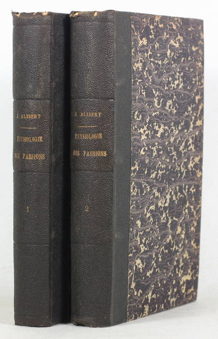 ALIBERT - Physiologie des passions - 1825 - 2 volumes - gravures - Photo 1 - livre de collection