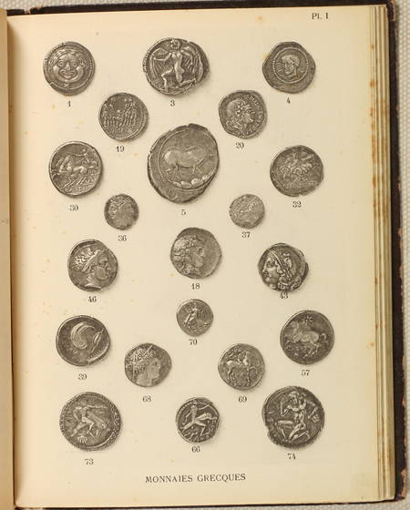 Bibliothèque nationale. Cabinet des médailles et antiques. Les monnaies. 1929 - Photo 0 - livre rare