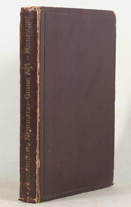 Bibliothèque nationale. Cabinet des médailles et antiques. Les monnaies. 1929 - Photo 1 - livre rare