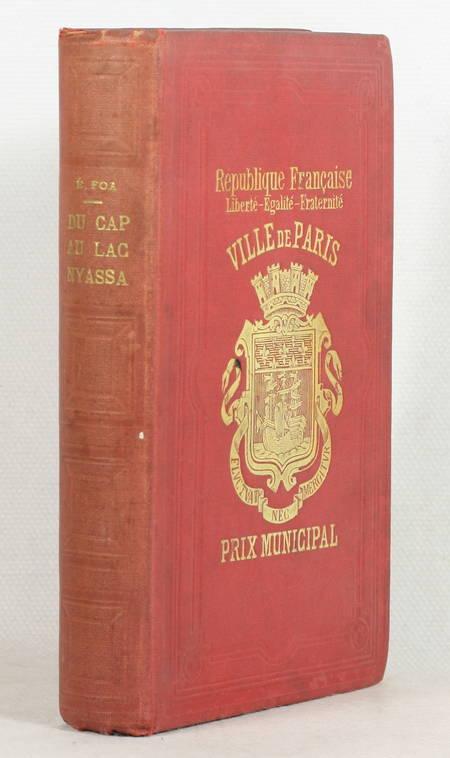 [Afrique centrale] Edouard FOA - Du Cap au lac Nyassa - 1897 - Photo 1 - livre de bibliophilie