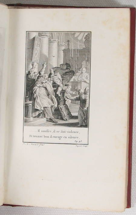 GRESSET - Oeuvres - Bleuet, 1805 3 vol. - Grandes marges - Figures Moreau le J. - Photo 5 - livre d'occasion