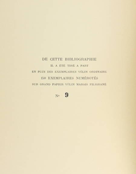 CARTERET (L.). Le trésor du bibliophile. Livres illustrés modernes 1875 à 1945 et souvenirs d'un demi-siècle de bibliophilie de 1887 à 1945, livre rare du XXe siècle