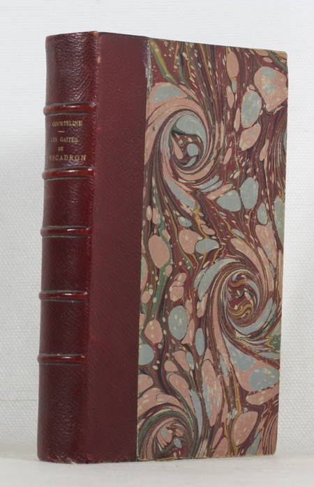 COURTELINE Les gaités de l'escadron Illustrations en couleurs d'Albert Guillaume - Photo 1 - livre de bibliophilie