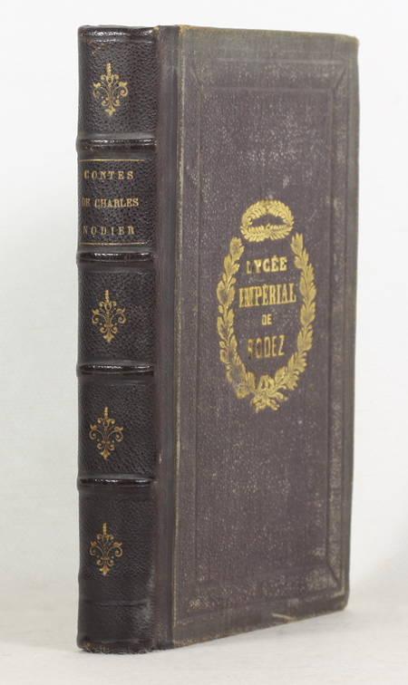 Contes de Charles Nodier - Relié - Illustré par Tony Johannot - Photo 1 - livre d'occasion