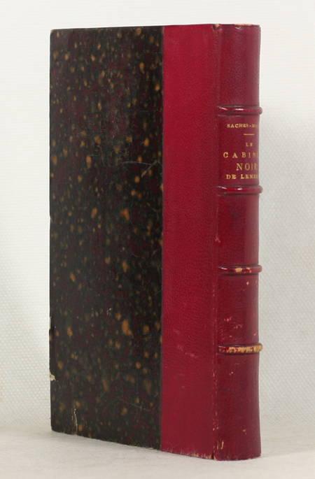 SACHER-MASOCH Le cabinet noir de Lemberg. L'Ilau 1880 Première édition française - Photo 0 - livre rare