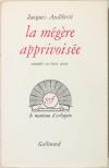 AUDIBERTI - La mégère apprivoisée - 1957 - EO 1/45 vélin pur fil - Photo 0 - livre du XXe siècle