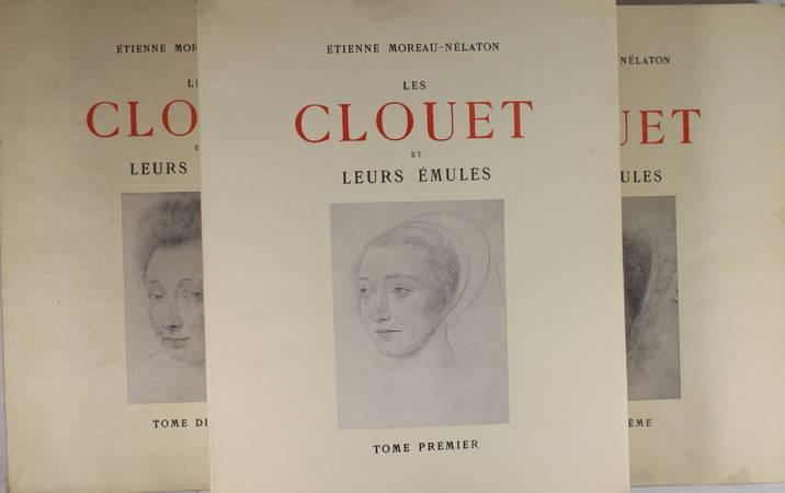 MOREAU-NELATON - Les Clouet et leurs émules - 1924 - Signé - 3 Volumes - Photo 2 - livre rare