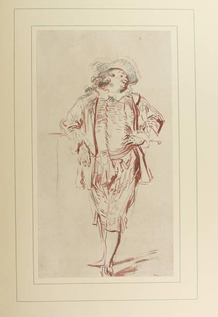 GURLITT (Cornelius). Handzeichnungen von Watteau. 55 herausgewählte Blätter mit einer Studie und begleitenden Notizen herausgegeben von Cornelius Gurlitt, livre rare du XXe siècle