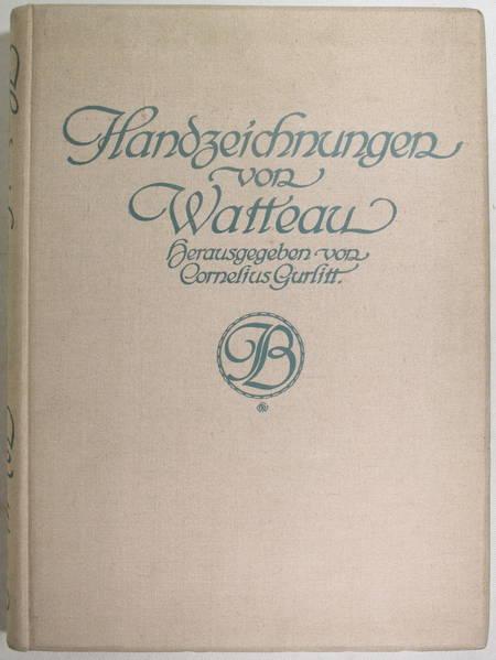 [Dessin] GURLITT - Handzeichnungen von Watteau - 1909 - 55 planches - Photo 1 - livre de collection