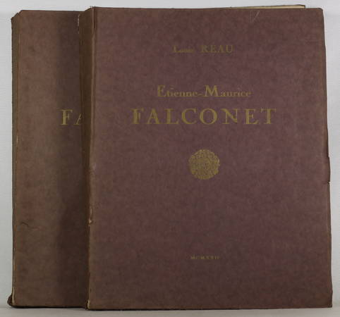 [Sculpture] Louis REAU - Etienne-Maurice Falconnet - 1922 - 2 volumes - Rare - Photo 0 - livre moderne