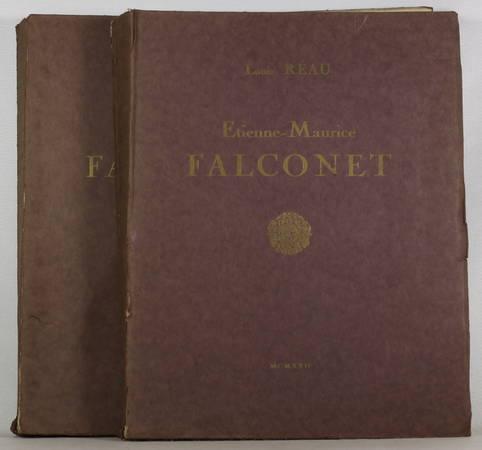 [Sculpture] Louis REAU - Etienne-Maurice Falconnet - 1922 - 2 volumes - Rare - Photo 0 - livre du XXe siècle