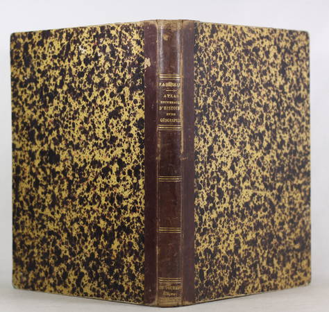 ANSART - Atlas ancien et moderne - 62 planches couleurs - Vers 1865 - Photo 2 - livre de collection