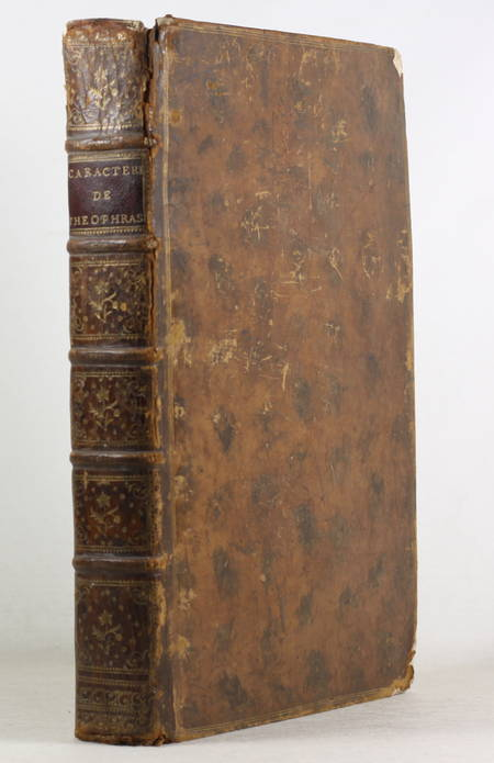 LA BRUYERE. Caractères de Théophraste et de La Bruyère. Avec des notes par M. Coste