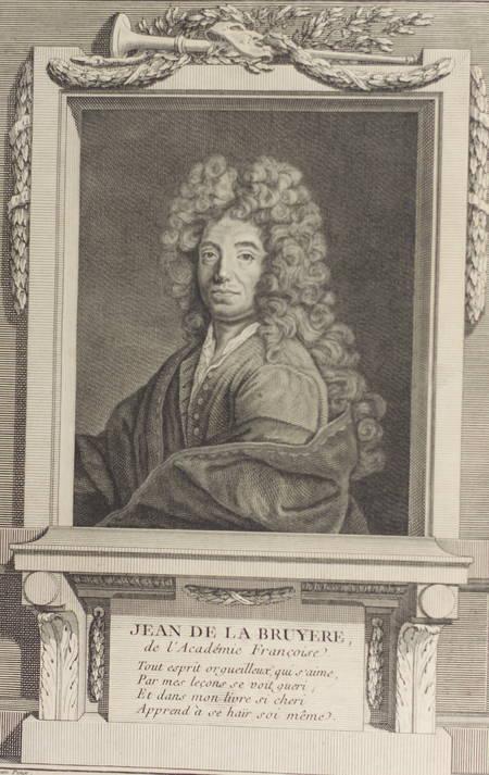 Les Caractères de Théophraste et de la Bruyère - 1765 - In-4 - Figures - Photo 1 - livre du XVIIIe siècle