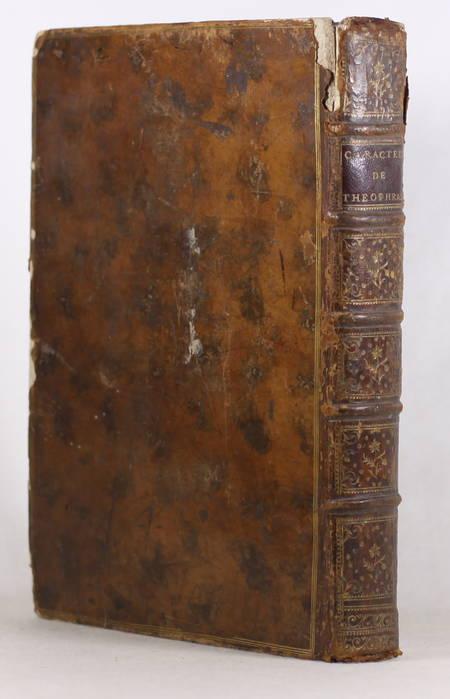 Les Caractères de Théophraste et de la Bruyère - 1765 - In-4 - Figures - Photo 3 - livre ancien