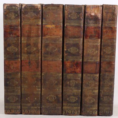 Oeuvres de Lucien traduites du grec avec des remarques historiques 1789 - 6 vols - Photo 1 - livre de bibliophilie