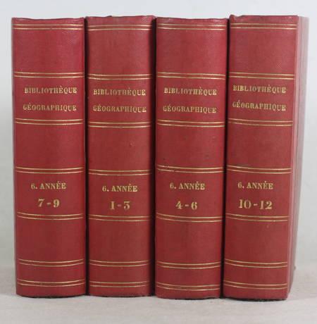[Voyages] BRETON Bibliothèque géographique de la jeunesse - 6e année complète - Photo 1, livre rare du XIXe siècle