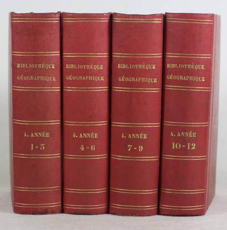 [Voyages] BRETON Bibliothèque géographique de la jeunesse - 4e année complète - Photo 1, livre rare du XIXe siècle