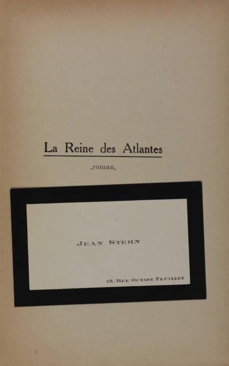 STERN (Ernesta, dite Maria Star). La reine des atlantes, livre rare du XXe siècle
