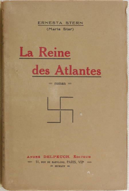 STERN (Ernesta, dite Maria Star) - La reine des atlantes - 1925-1926 - EO - Photo 1 - livre moderne