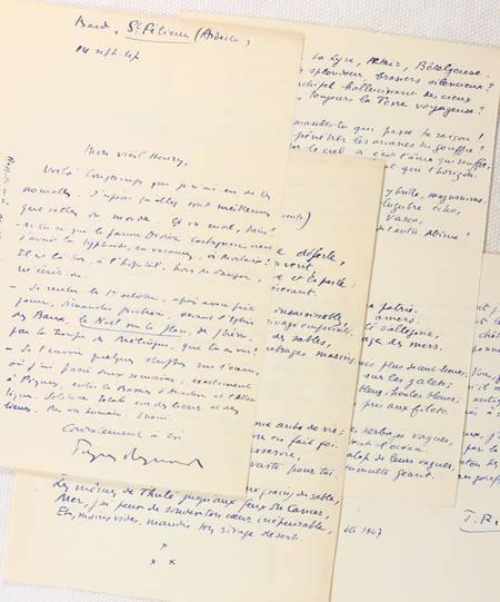 REYNAUD (Jacques). Les métamorphoses, livre rare du XXe siècle