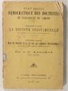 MAZAROZ Etat social démocratique des doctrines et paraboles du Christ - 1886 - Photo 0 - livre de collection