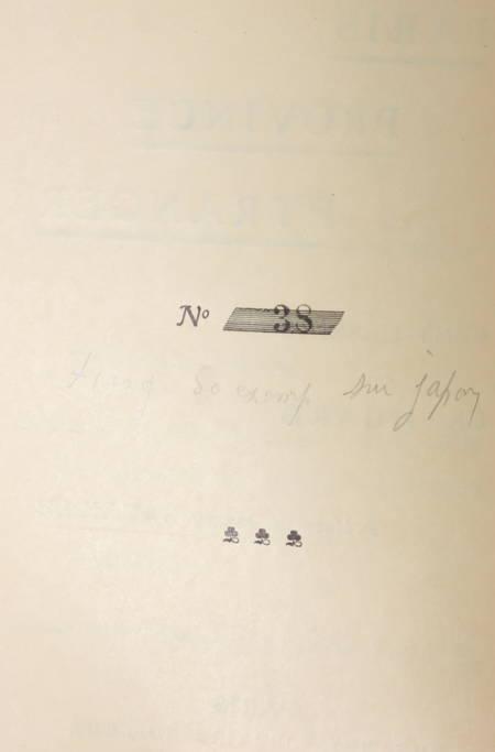 Charles HUARD - Paris, province, étranger - 1906 - Bien relié - 1/50 sur Japon - Photo 2 - livre rare