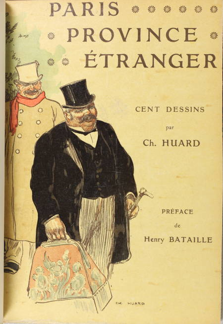 Charles HUARD - Paris, province, étranger - 1906 - Bien relié - 1/50 sur Japon - Photo 3 - livre rare