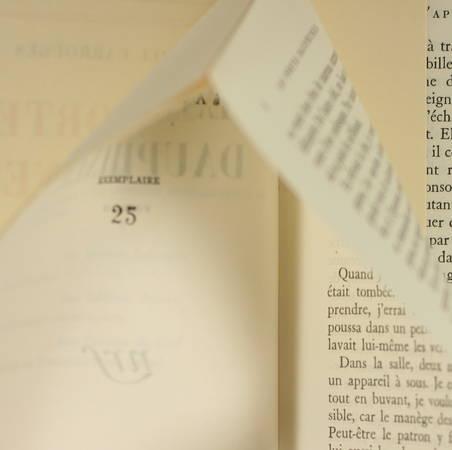 CARROUGES (Michel). Les portes dauphines, livre rare du XXe siècle