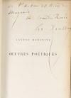 HOUSSAYE - Oeuvres poetiques - 1857 - Relié - Envoi signé - Photo 0, livre rare du XIXe siècle