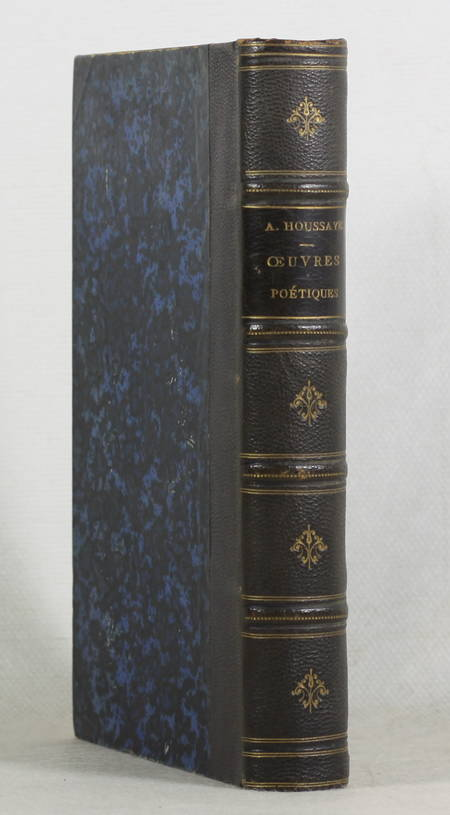 HOUSSAYE - Oeuvres poetiques - 1857 - Relié - Envoi signé - Photo 1 - livre rare