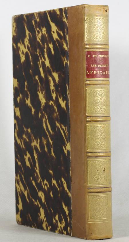 LAPOINTE (Armand). Les déserts africains. Aventures extraordinaires d'un homme, d'un singe et d'un éléphant, livre rare du XIXe siècle