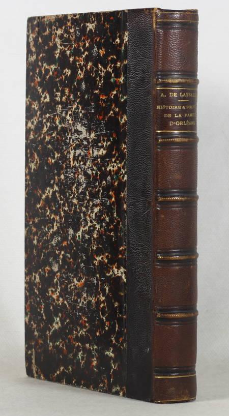 LASSALLE - Histoire et politique de la famille d'Orléans - 1853 - Photo 0 - livre du XIXe siècle