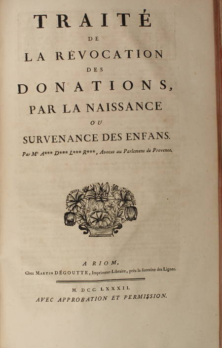 [Droit Picardie] RICARD - Oeuvres : Traités, coutumiers, ... - 1783 - 2 vol in-f - Photo 3 - livre rare