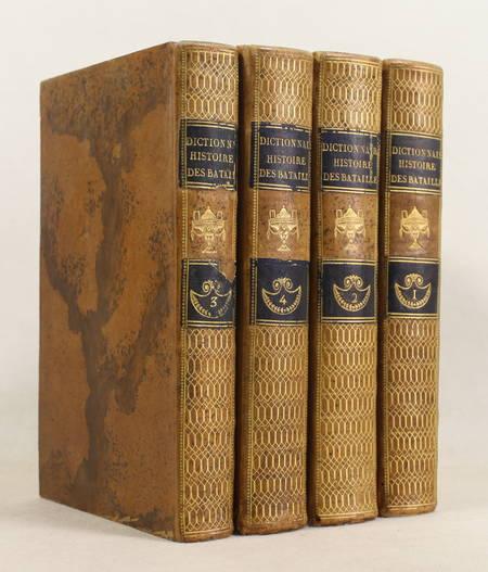 Dictionnaire historique des batailles de la Révolution - 1818 - 4 volumes - Photo 0 - livre de collection