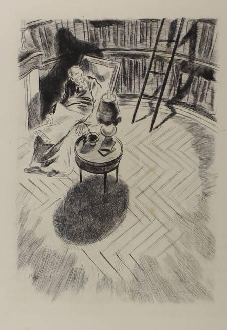 Anatole FRANCE La révolte des anges 1946 eaux fortes de Pierre Watrin + 2 suites - Photo 3 - livre de collection