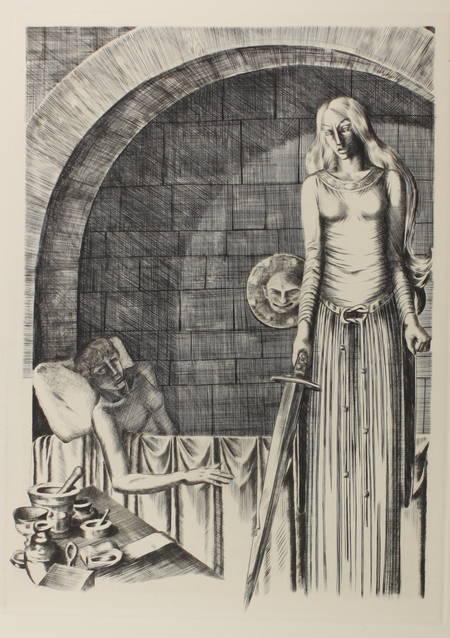 Joseph Bédier - Le roman de TRISTAN et ISEUT - 1948 - Burins de JOSSO - Photo 2 - livre du XXe siècle