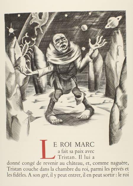 Joseph Bédier - Le roman de TRISTAN et ISEUT - 1948 - Burins de JOSSO - Photo 5 - livre du XXe siècle