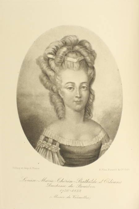 DUCOS (Comte). La mère du duc d'Enghien. 1750-1822