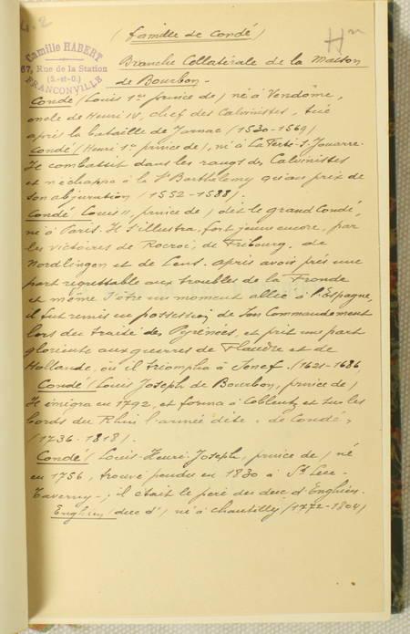 DUCOS - La mère du duc d'Enghien. 1750-1822 - Plon, 1900 - Photo 2 - livre d'occasion