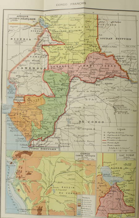 Henri VAST - La plus grande France - Bilan de la France coloniale - 1909 Cartes - Photo 3 - livre d'occasion