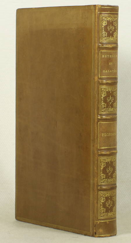 FLORIAN. Estelle et Galatée, livre ancien du XIXe siècle