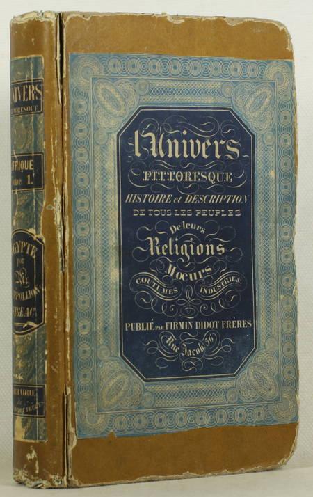 CHAMPOLLION-FIGEAC - Egypte antique - 1839 - Planches - Univers pittoresque - Photo 1 - livre du XIXe siècle