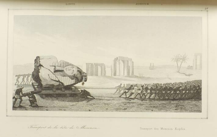 CHAMPOLLION-FIGEAC - Egypte antique - 1839 - Planches - Univers pittoresque - Photo 2 - livre du XIXe siècle