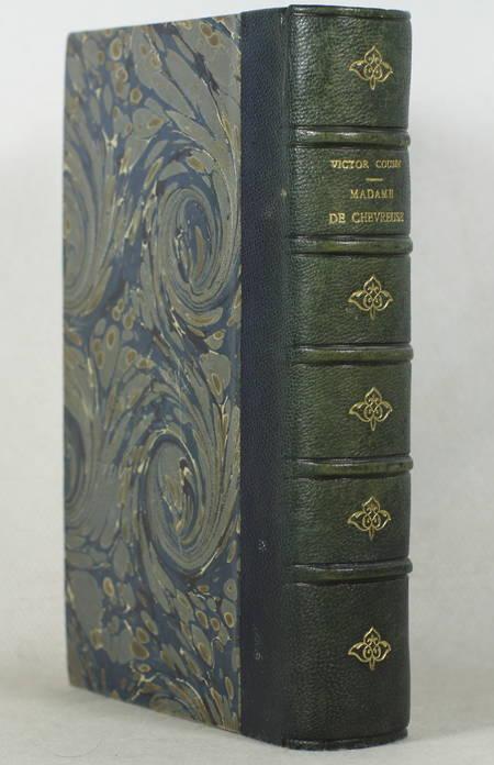 COUSIN (Victor). Madame de Chevreuse. Nouvelles études sur les femmes illustres et la société du XVIIe siècle