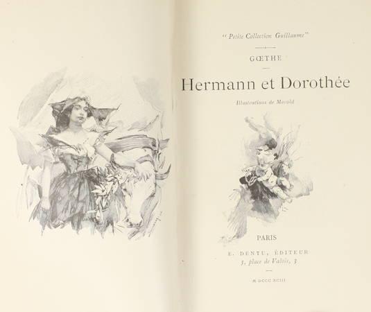 GOETHE. Hermann et Dorothée
