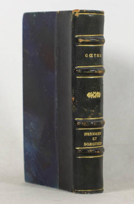 GOETHE - Hermann et Dorothée - Dentu, 1893 - Relié - Illustrations de Marold - Photo 1 - livre rare